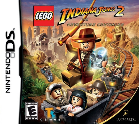 LEGO Indiana Jones 2: The Adventure Continues on DS - Gamewise