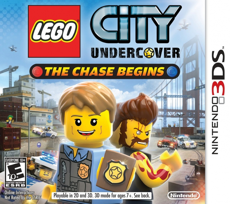 Lego City Undercover on 3DS - Gamewise