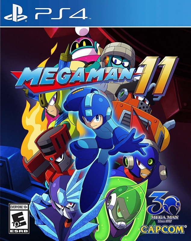 Mega Man 11 for PS4 Walkthrough, FAQs and Guide on Gamewise.co