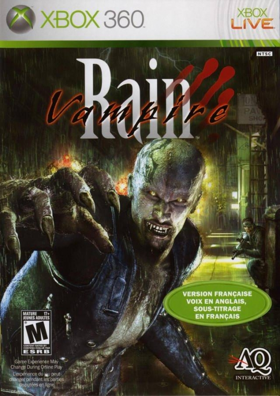 Vampire Rain Wiki - Gamewise