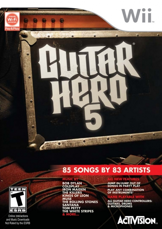 Gamewise Guitar Hero 5 Wiki Guide, Walkthrough and Cheats