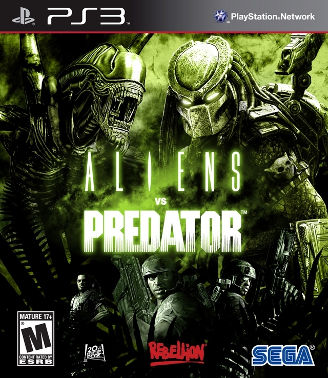 Aliens vs Predator on PS3 - Gamewise