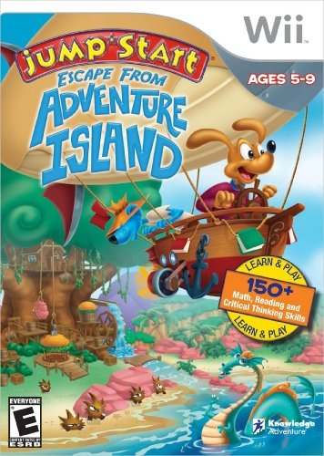JumpStart: Escape from Adventure Island for Wii Walkthrough, FAQs and Guide on Gamewise.co