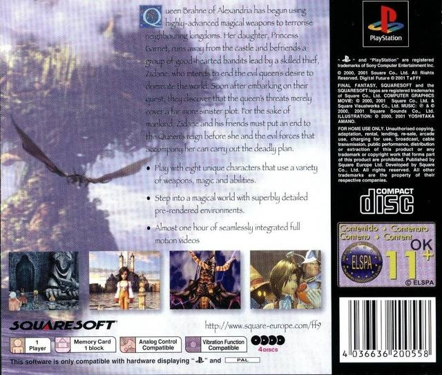 Final Fantasy IX for PlayStation - Cheats, Codes, Guide