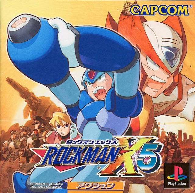 Mega Man X5 on PS - Gamewise