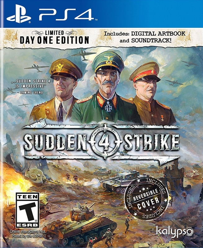 Sudden Strike 4 for PS4 Walkthrough, FAQs and Guide on Gamewise.co