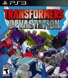 Transformers: Devastation for PS3 Walkthrough, FAQs and Guide on Gamewise.co