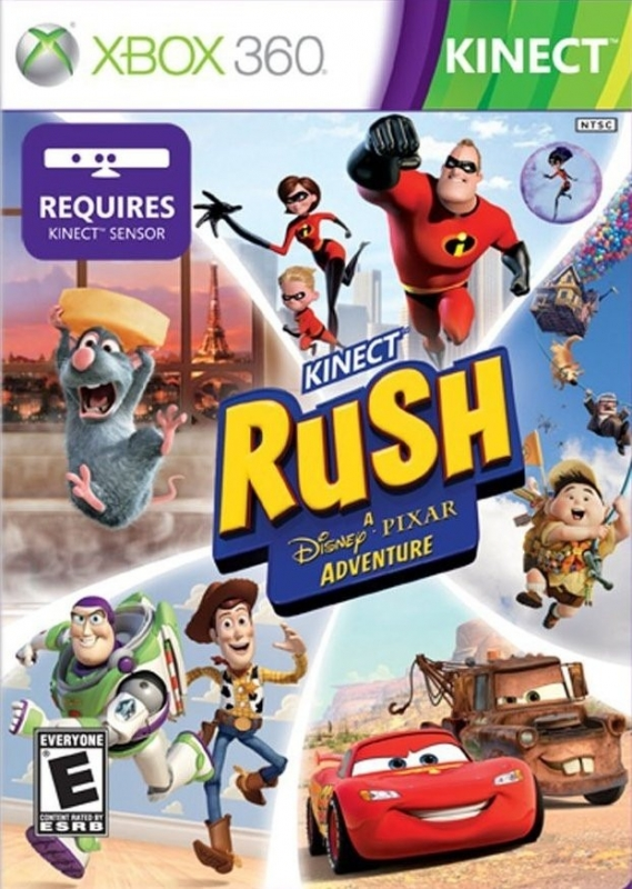 Gamewise Kinect Rush: A Disney Pixar Adventure Wiki Guide, Walkthrough and Cheats