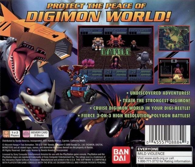 Digimon World 2 for PlayStation - Sales, Wiki, Release Dates