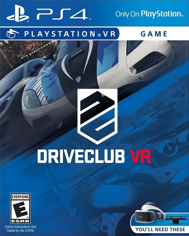 DriveClub VR on PS4 - Gamewise