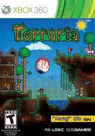 Terraria on X360 - Gamewise