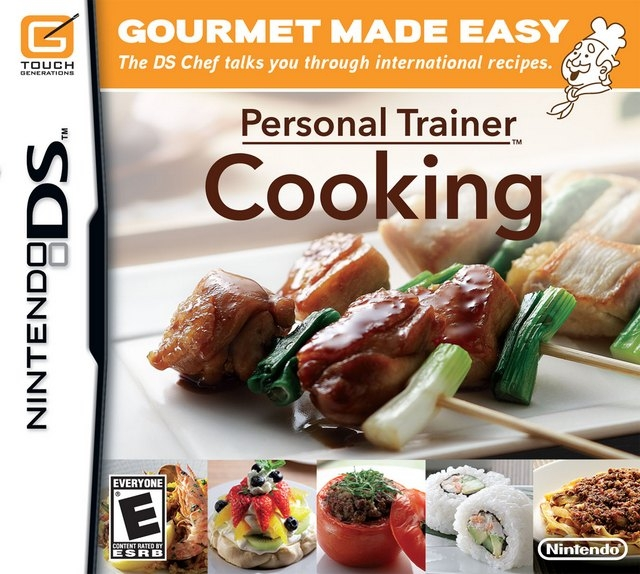 Personal Trainer: Cooking on DS - Gamewise
