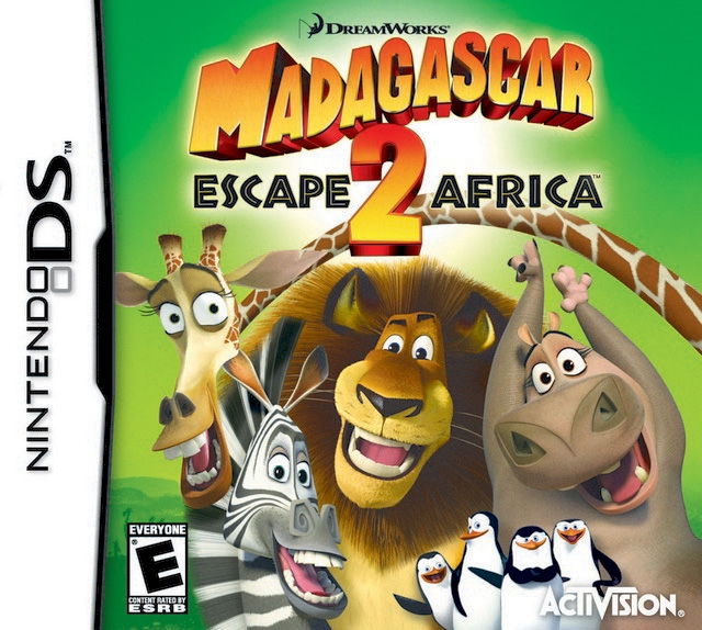 Madagascar: Escape 2 Africa on DS - Gamewise