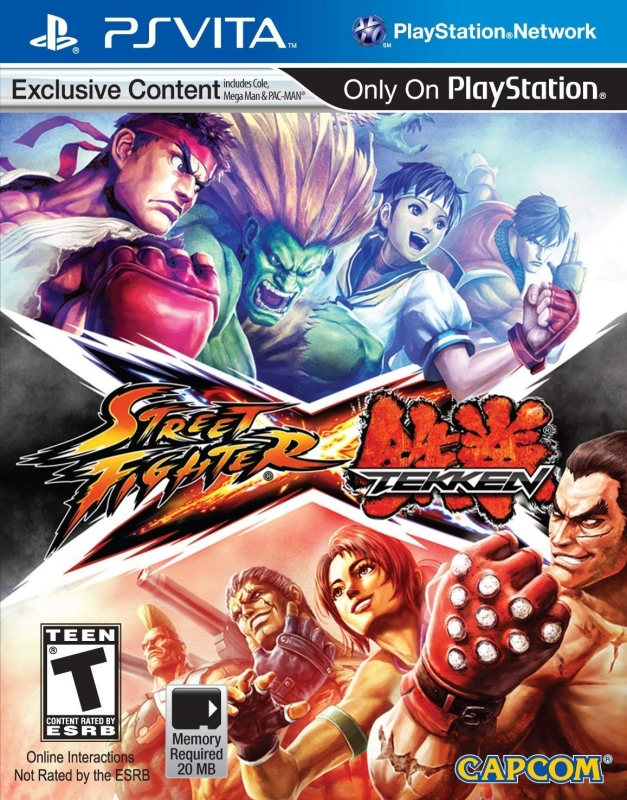 Street Fighter X Tekken for PSV Walkthrough, FAQs and Guide on Gamewise.co