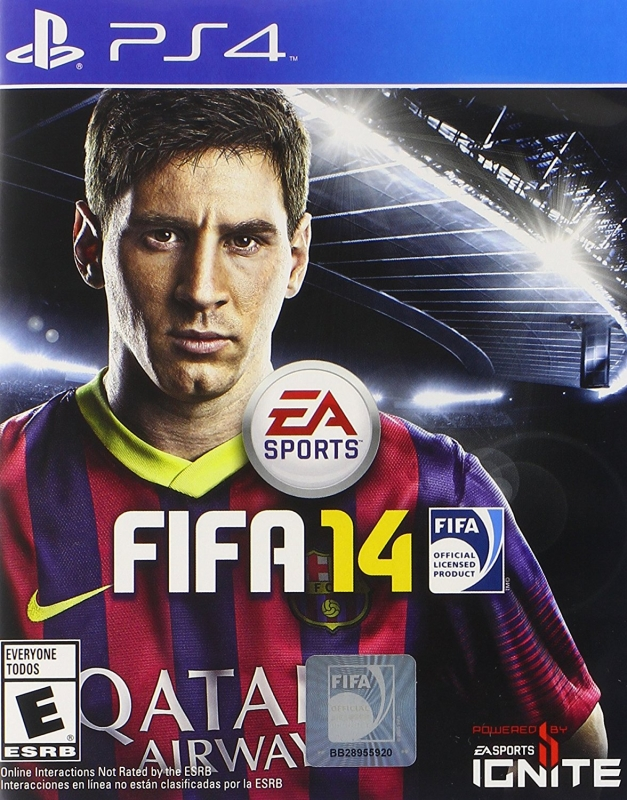 FIFA Soccer 14 on PS4 - Gamewise