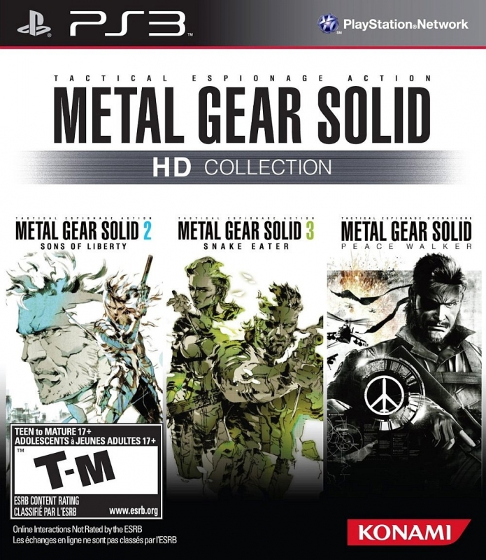 Metal Gear Solid HD Collection [Gamewise]