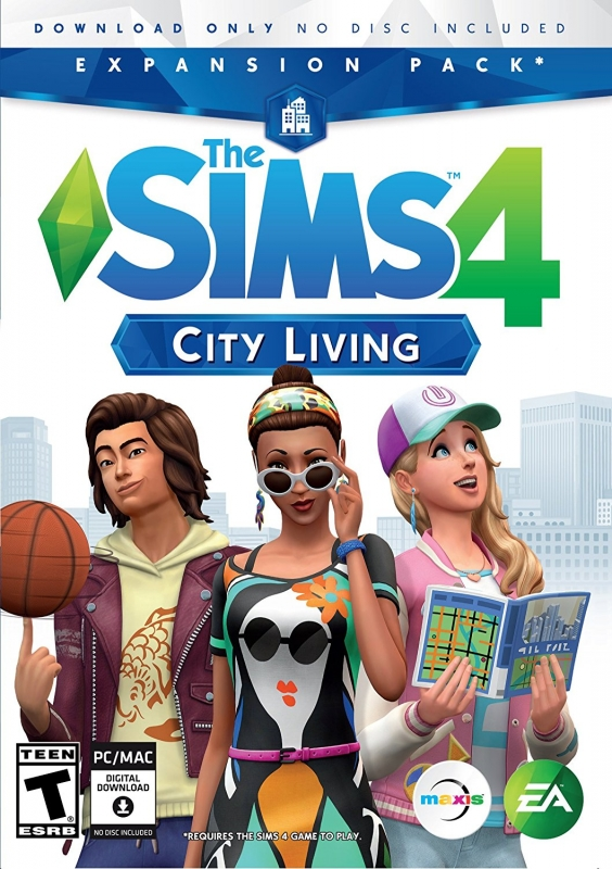 The Sims 4: City Living [Gamewise]