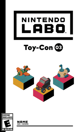 Nintendo Labo: Toy-Con 03 Vehicle Kit [Gamewise]
