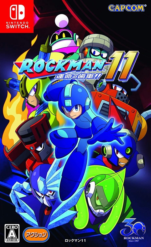 Mega Man 11 on NS - Gamewise