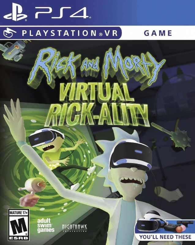 Gamewise Wiki for Rick & Morty Virtual Rick-Ality (PS4)