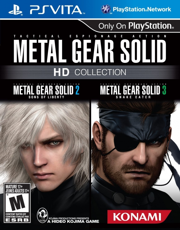 Metal Gear Solid HD Collection on PSV - Gamewise