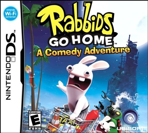 Rabbids Go Home on DS - Gamewise