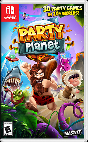 Gamewise Wiki for Party Planet (NS)
