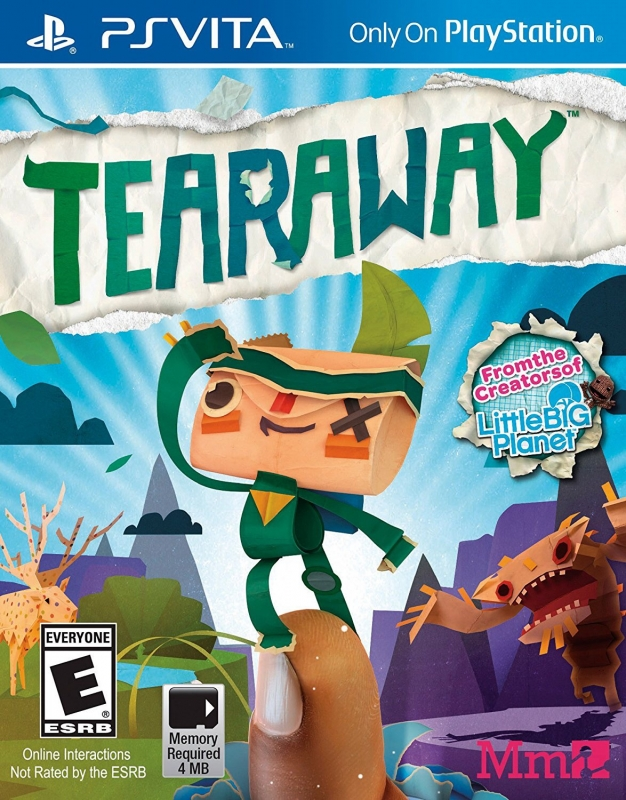 Tearaway on PSV - Gamewise
