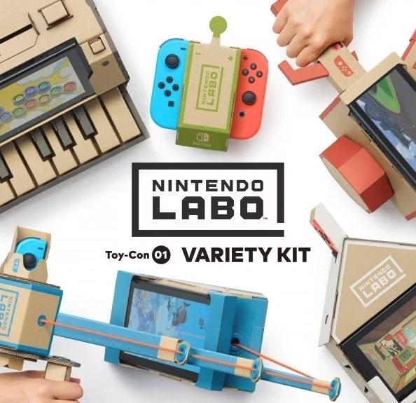 Gamewise Nintendo Labo: Toy-Con 01 Variety Kit Wiki Guide, Walkthrough and Cheats