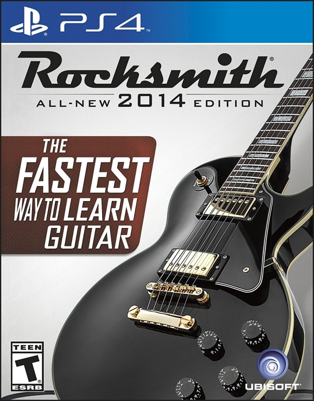 Rocksmith 2014 on PS4 - Gamewise