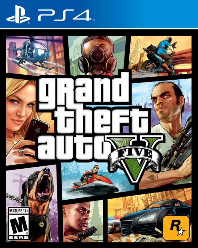 Grand Theft Auto V on PS4 - Gamewise