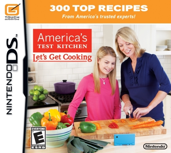 Gamewise America's Test Kitchen: Let's Get Cooking Wiki Guide, Walkthrough and Cheats