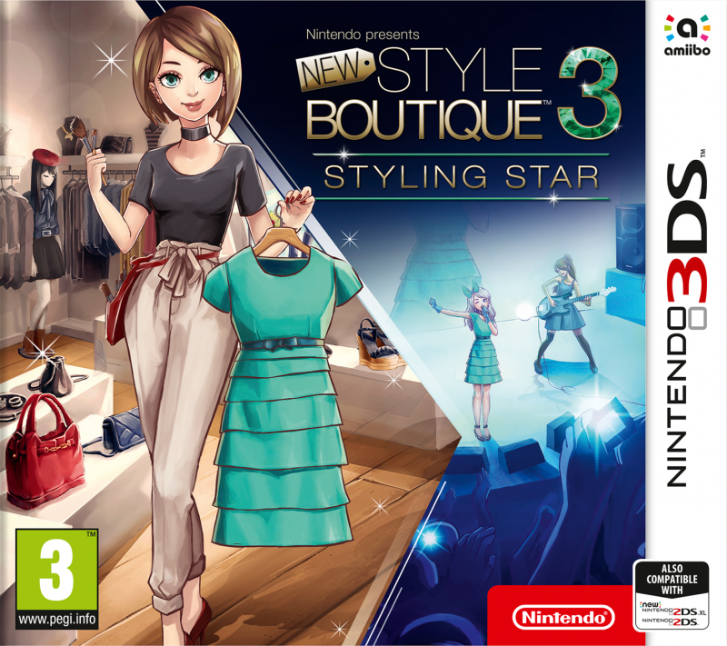 New Style Boutique 3 - Styling Star on 3DS - Gamewise
