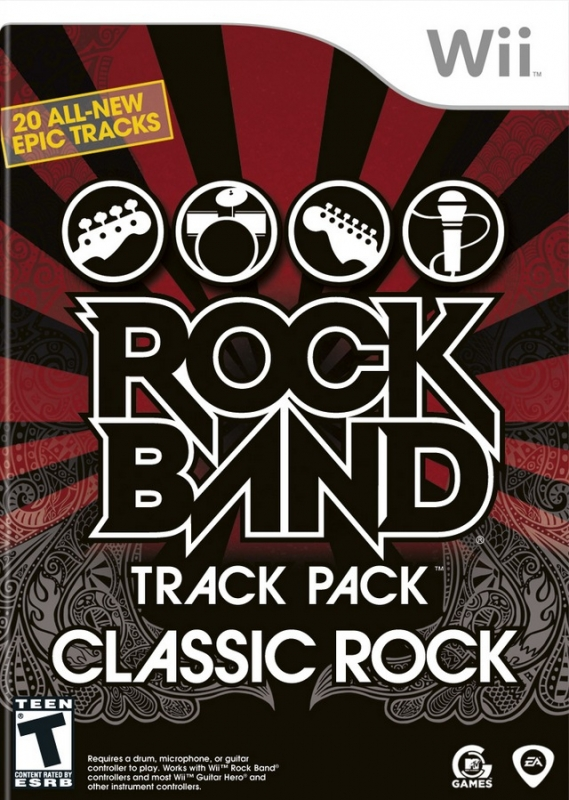 Rock Band Track Pack: Classic Rock [Gamewise]