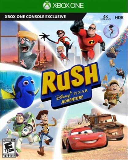 Rush: A Disney Pixar Adventure Wiki - Gamewise