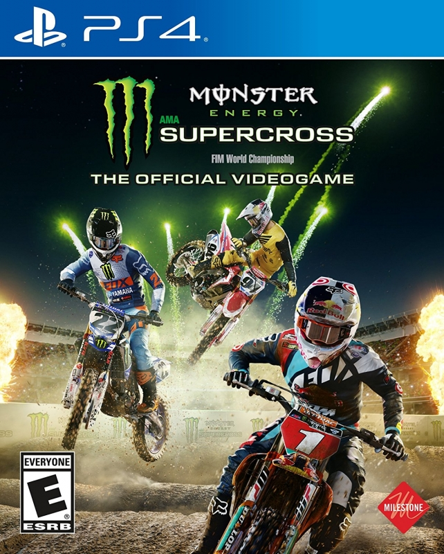Monster Energy Supercross - The Official Videogame Cheats, Codes, Hints and Tips - PS4