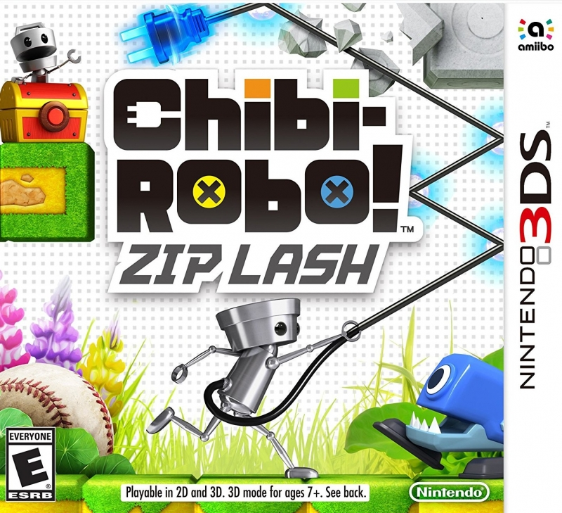 Chibi-Robo! Zip Lash for 3DS Walkthrough, FAQs and Guide on Gamewise.co