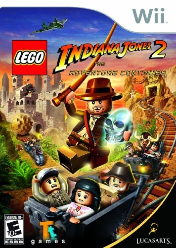 LEGO Indiana Jones 2: The Adventure Continues on Wii - Gamewise
