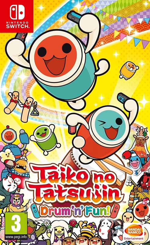 Gamewise Taiko no Tatsujin: Drum 'n' Fun! Wiki Guide, Walkthrough and Cheats