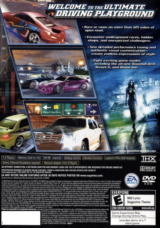 Need For Speed Underground 2 For Playstation 2 Summary Story