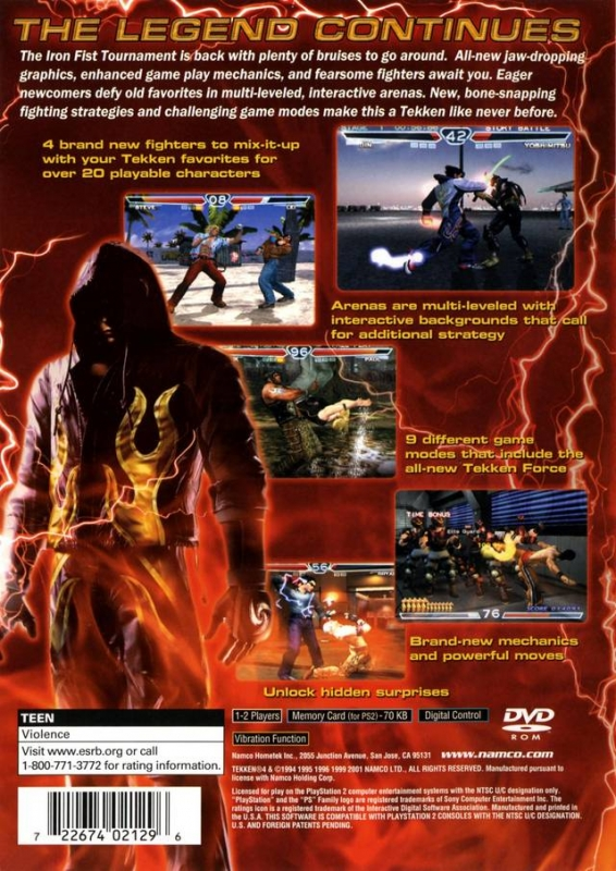 Tekken 4 For Playstation 2 Cheats Codes Guide Walkthrough Tips Tricks