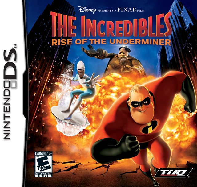 The Incredibles: Rise of the Underminer on DS - Gamewise