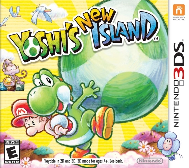 Yoshi's New Island on 3DS - Gamewise