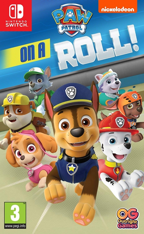 Paw Patrol on a Roll [Gamewise]