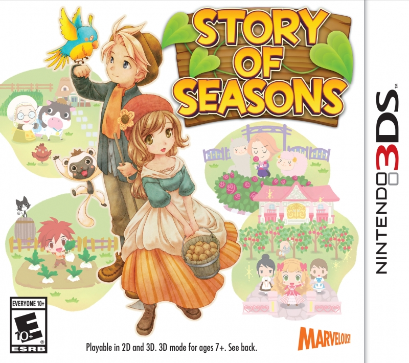 Story of Seasons for 3DS Walkthrough, FAQs and Guide on Gamewise.co