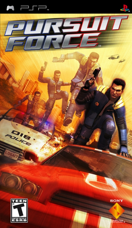 Pursuit Force on PSP - Gamewise