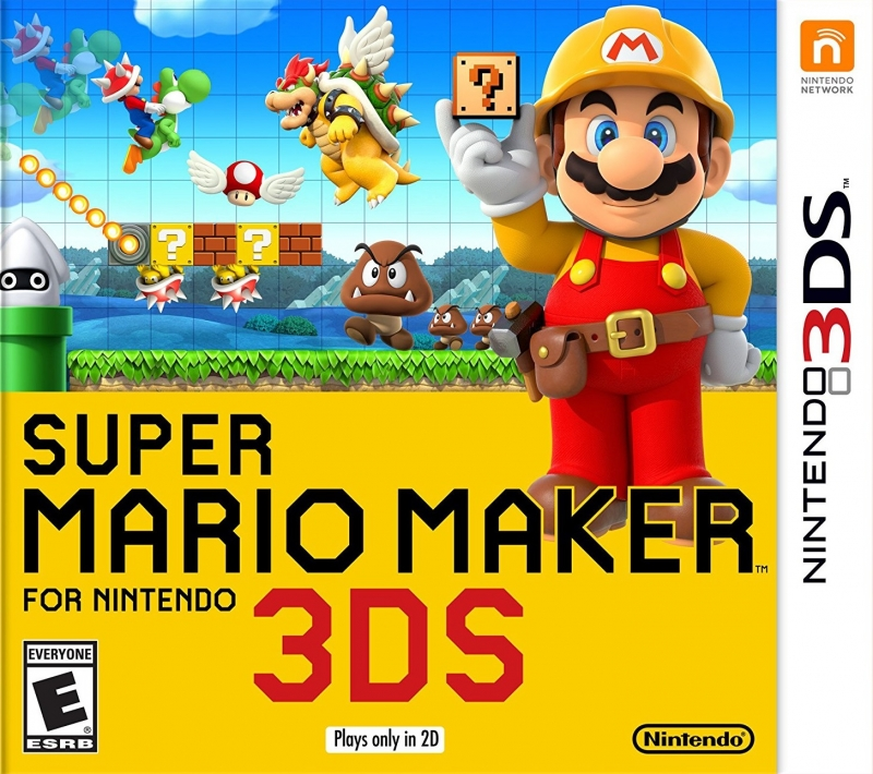 Super Mario Maker on 3DS - Gamewise