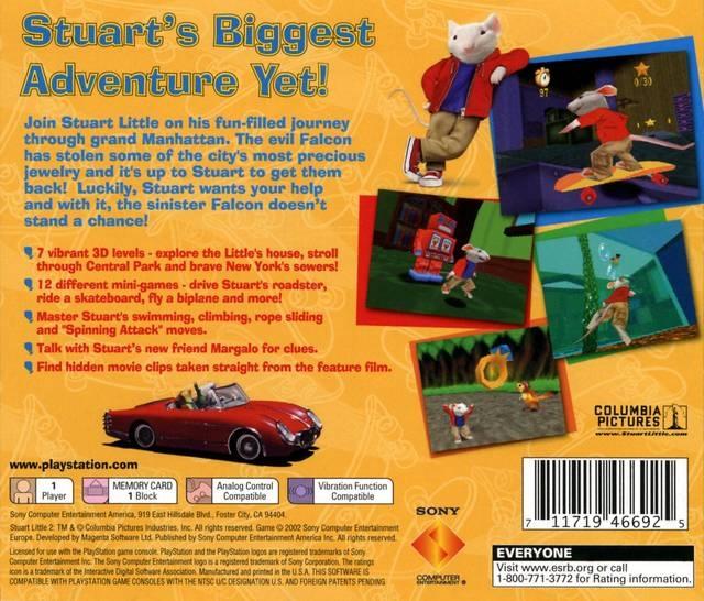 Stuart Little 2 For Playstation Sales Wiki Release Dates Review Cheats Walkthrough