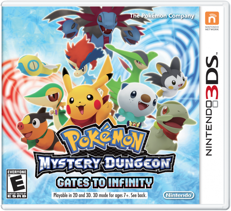 Pokemon Mystery Dungeon: Gates to Infinity for 3DS Walkthrough, FAQs and Guide on Gamewise.co