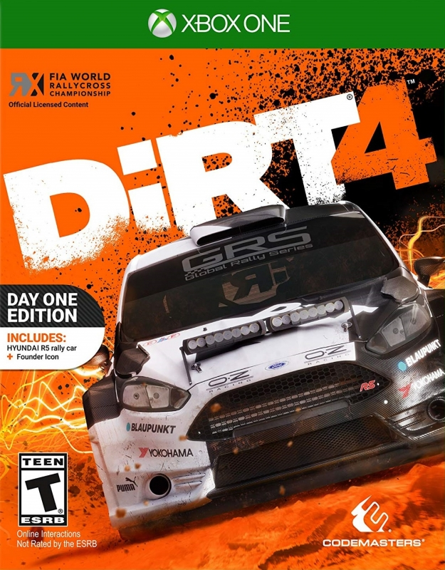 DiRT 4 for XOne Walkthrough, FAQs and Guide on Gamewise.co